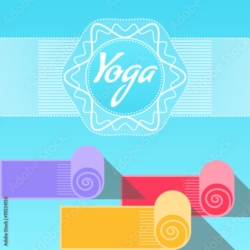 Template Of Poster For International Yoga Day Placard 21 June