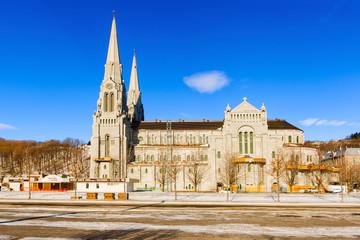The Basilica of Sainte Anne de Beaupre in Quebec, Canada.