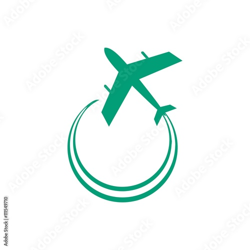 airplane logo icon vector stock image and royalty free vector files