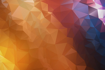 Abstract, Low Poly, geometric background, triangle