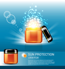 Sun protection for skin care