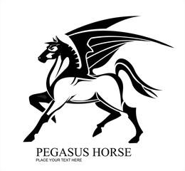 pegasus, standing pegasus