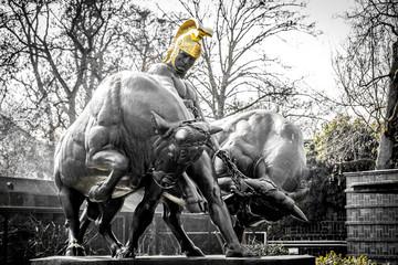 Jason Denkmal im Zoologischen Garten in Leipzig
