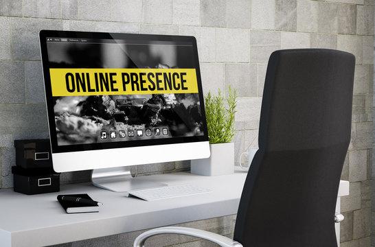 industrial workspace online presence