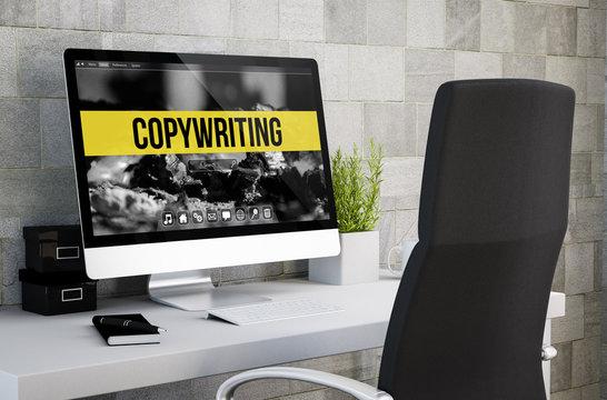 industrial workspace copywriting