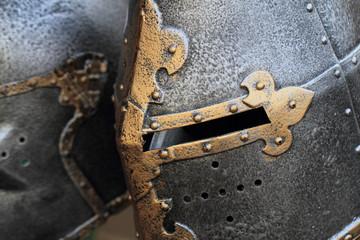 old history helmet