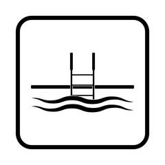 Pool vector icon