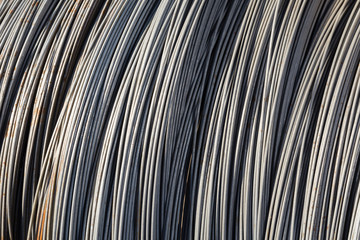 Wire metal background texture view