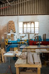 Image of carpenters workshop