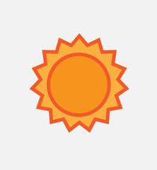 sun and uv logo and icon