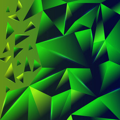 Abstract triangle geometric vector background
