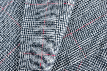 Glen plaid or Prince of Wales Check a woollen fabric  used in suits and jackets