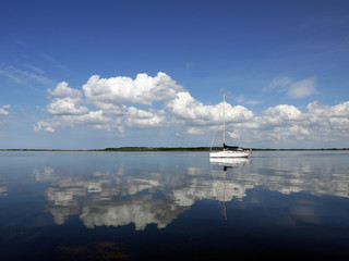 Spiegelung im Limfjord