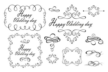 Beautiful design for wedding greetings