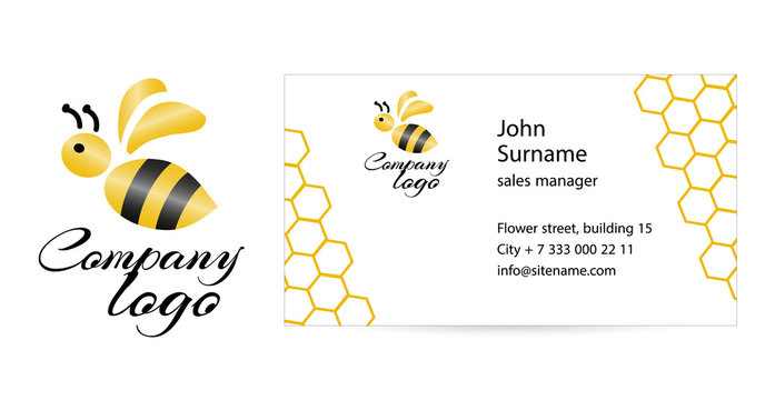 Merry bee business card