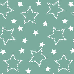 star seamless pattern. Used for print, pattern, fabric, background.