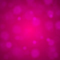 Shiny bright pink lights blurred background. Vector illustration