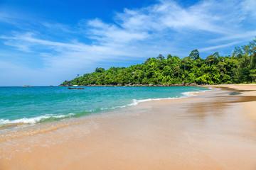 Sandy beach at Khao Lak