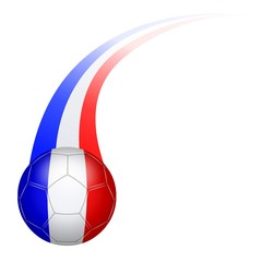 Ballon football couleur France (3b)