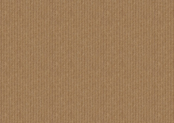 Brown cardboard background with vertical strips, paper texture for design.