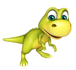 cute Dinosaur cartoon character