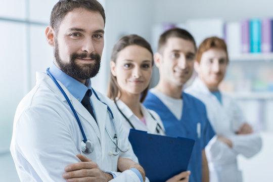 Medical team at the hospital