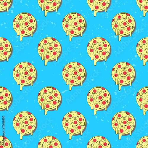 repeating pizza background - photo #7