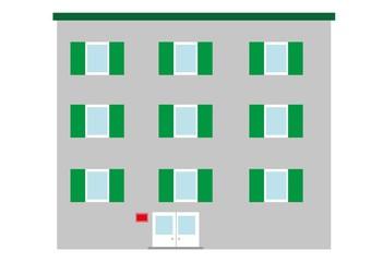 dom,budynek,urząd, szpital