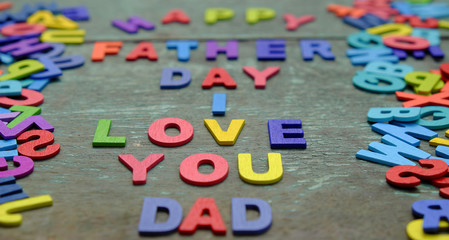 love you dad, happy father day