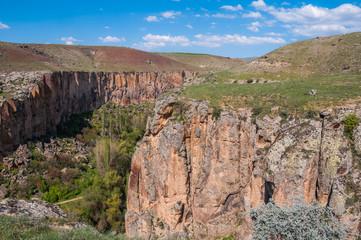 Ihlara Valley in Cappadocia (Turkey)