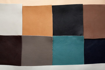 leather patches of different color