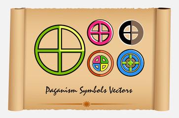 Set of Neo-Paganism Symbols