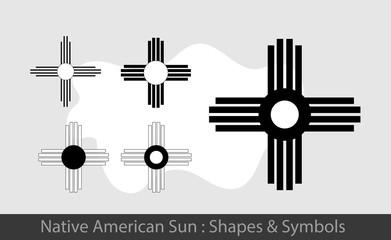 Native American Sun Symbols