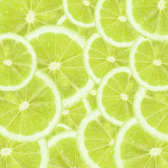 A slices of fresh lime texture