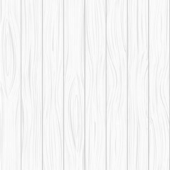 Vector white wood texture background.