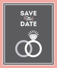 wedding invitation icon  design