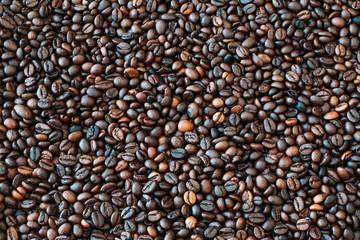 coffee bean texture