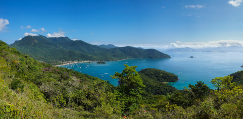 The beautiful island of Ilha Grande, Brazil