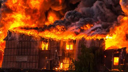 Großbrand Feuer