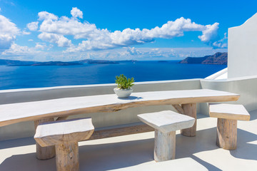 Obraz Santorini wyspa, Oia, Cyklady, Grecja - fototapety do salonu