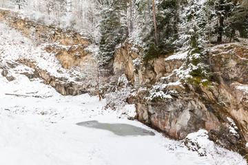 Steinbruch in Harzgerode