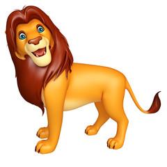 fuuny Lion cartoon character