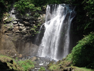 the ashiribetsu fall