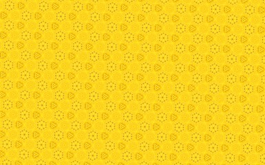 Yellow vintage pattern background