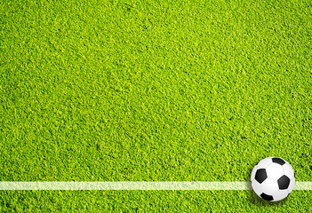 Fußball Seitenlinie