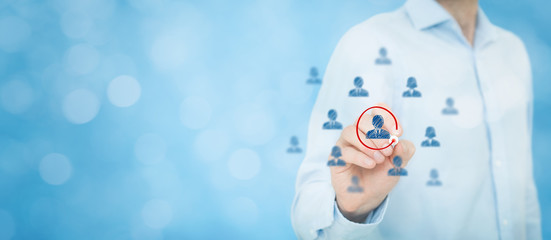 Marketing segmentation and leader