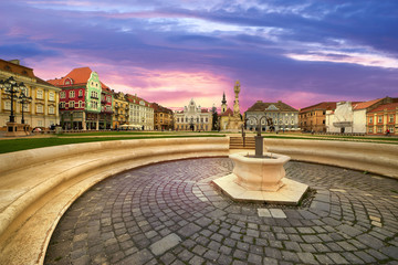 Timisoara City in Romania