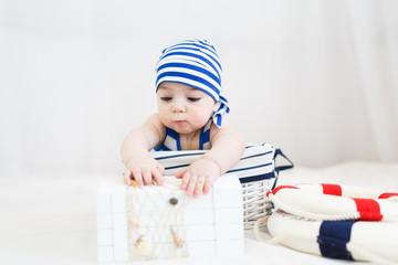 Cute little sailor