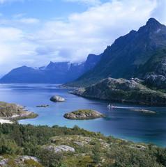 Fishing boat in Norway.