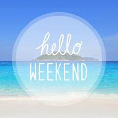 Happy weekend on sea view at Similan Islands